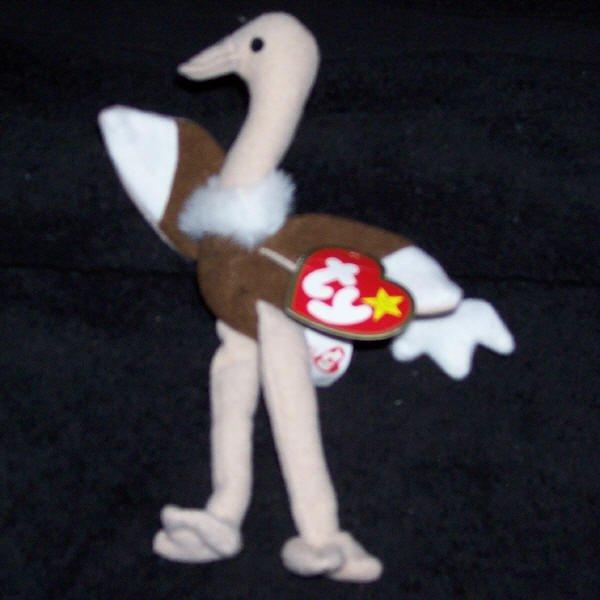 Stretchy The Ostrich McDonalds TY Teenie Beanie Baby