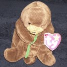 TY Beanie Baby Seaweed The Otter Born March 19, 1996