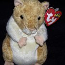TY Beanie Baby Pellet The Hamster Born July 29, 2000