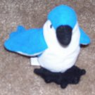 Rocket The Blue Jay Bird McDonalds TY Teenie Beanie Baby