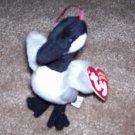 Loosy The Goose TY Jingle Beanie Baby 2001