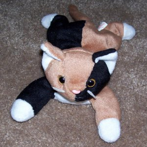 Chip The Calico Cat TY Beanie Baby 1996 Retired 60c6f9cba35