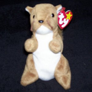 Nuts The Squirrel TY Beanie Baby Born January 21 dc32d51940b
