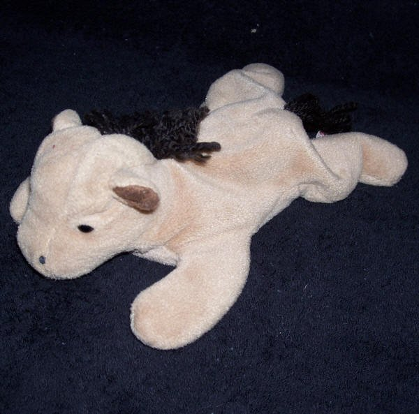 Derby The Horse TY Beanie Baby 1995 Retired