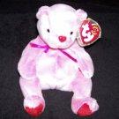 Romance The Bear TY Beanie Baby Born February 2, 2001