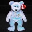 Issy The Bear Jakarta TY Beanie Baby 2001 Retired