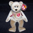 1999 Signature Bear TY Beanie Baby Retired