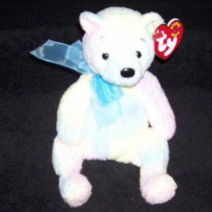 73e05e88cba Mellow The Bear TY Beanie Baby Born December 7