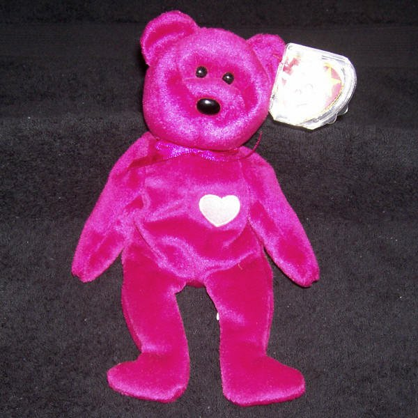 TY Beanie Baby Valentina The Bear Born February 14, 1998