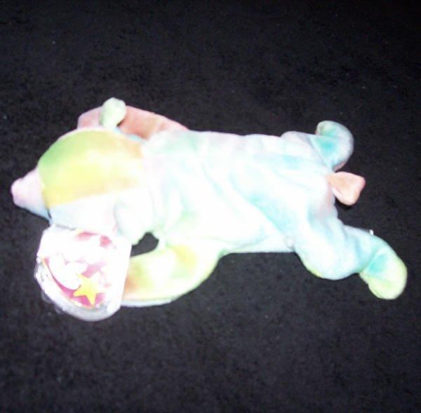 Sammy The Bear TY Beanie Baby Born June 23, 1998