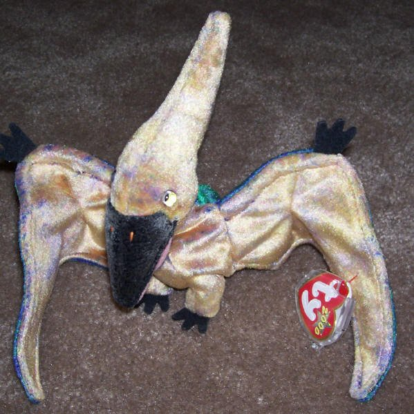 TY Beanie Baby Swoop The Pterodactyl Born February 24, 2000