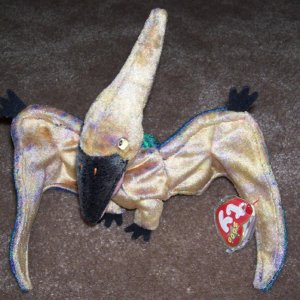 TY Beanie Baby Swoop The Pterodactyl Born February 24 41cc5d8d437