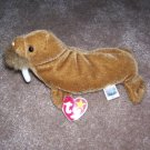 Paul The Walrus TY Beanie Baby Born February 23, 1999
