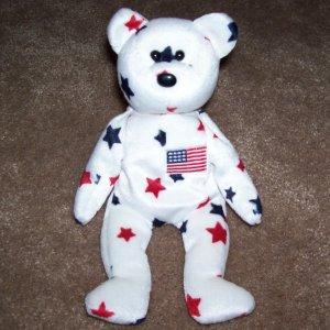 Glory The Bear TY Beanie Baby 1998 Retired
