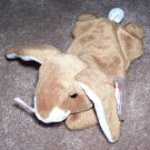 Ears The Bunny Rabbit TY Beanie Baby Born April 18, 1995