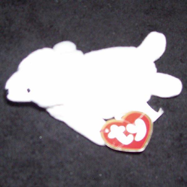 Seamore The White Seal Mcdonalds Ty Teenie Beanie Baby