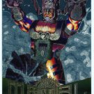 Marvel Metal #16 Galactus Silver Flasher Parallel Chase Card