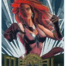 Marvel Metal #25 Scarlet Witch Silver Flasher Parallel Card