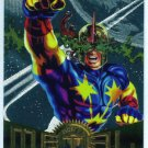 Marvel Metal #67 Nova Silver Flasher Parallel Chase Card