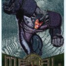 Marvel Metal #74 Rhino Silver Flasher Parallel Chase Card
