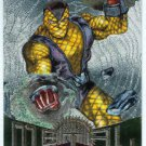 Marvel Metal #77 Shocker Silver Flasher Parallel Chase Card