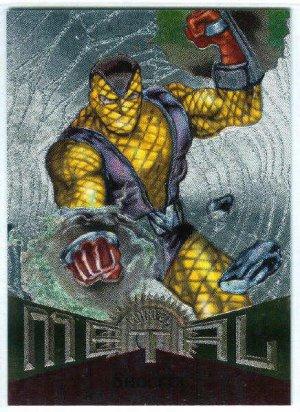 Marvel Metal #77 Shocker Silver Flasher Parallel Chase Card
