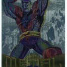 Marvel Metal #90 Colossus Silver Flasher Parallel Chase Card