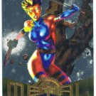 Marvel Metal #112 Psylocke Silver Flasher Parallel Chase Card