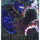 Marvel Metal #19 Thanos Silver Flasher Parallel Chase Card