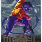 Marvel Metal #108 Nightcrawler Silver Flasher Parallel Card