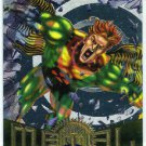 Marvel Metal #84 Banshee Silver Flasher Parallel Chase Card