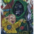 Marvel Metal #128 Dr. Doom Alternate M Silver Flasher Card