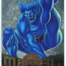 Marvel Metal #85 Beast Silver Flasher Parallel Chase Card
