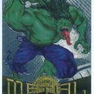 Marvel Metal #47 Hulk 2099 Silver Flasher Parallel Chase Card