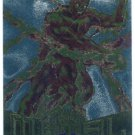 Marvel Metal #32 Human Torch Silver Flasher Parallel Card