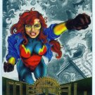 Marvel Metal #63 Firestar Silver Flasher Parallel Chase Card