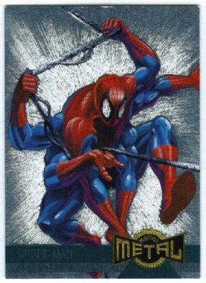 Marvel Metal #134 Spider-Man Alternate M Silver Flasher Card