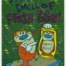 Ren and Stimpy 1993 #6 Sticker Puzzle Trading Card
