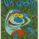 Ren and Stimpy 1993 #7 Sticker Puzzle Trading Card Oh Joy!!