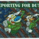Ren and Stimpy 1993 #10 Sticker Puzzle Trading Card