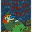 Ren and Stimpy 1993 #28 Sticker Puzzle Trading Card