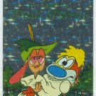 Ren and Stimpy 1993 #44 Sticker Puzzle Trading Card