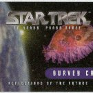 Star Trek 30th Anniversary Phase 3 Survey Trading Card