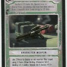Star Wars CCG Blaster Rifle LS Premiere Limited Game Card Unplayed