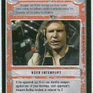 Star Wars CCG Hear Me Baby Hold Together LS Game Card Unplayed