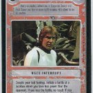 Star Wars CCG I've Got A Bad Feeling About This Game Card