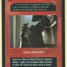 Star Wars CCG Alter Premiere Uncommon Dark Side Card