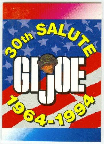 GI Joe 30th Salute Promo Unnumbered Trading Card
