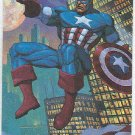 DC vs Marvel Promo Unnumbered Card Captain America