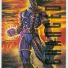 Marvel Masterpieces 1995 Emotion #12 Gold Foil Card Bishop